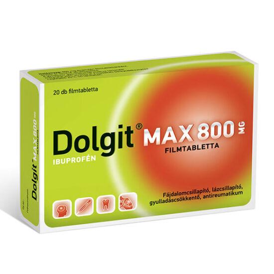 Dolgit Max 800 mg filmtabletta (Dolgit 800 filmt.) (20x)