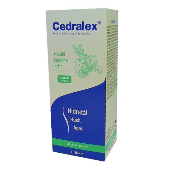 Cedralex Lábápoló krém frissítő (150ml)