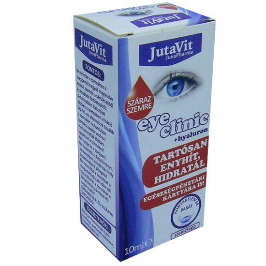 Jutavit Eye Clinic szemcsepp száraz szemre (10ml)