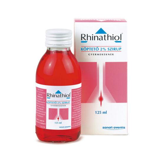 Rhinathiol köptető 20 mg/ml szirup gyermekeknek (1x125ml)
