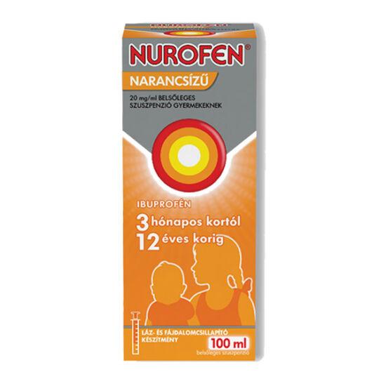 Nurofen  20mg/ml belsől.szuszpenzió gyerm.narancs (100ml)