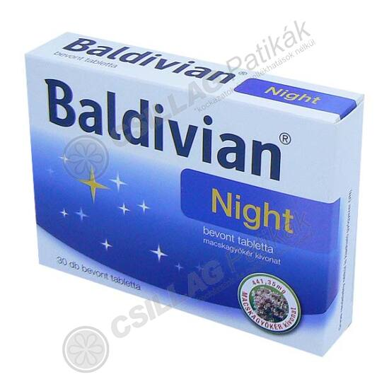 Baldivian Night bevont tabletta (30x)