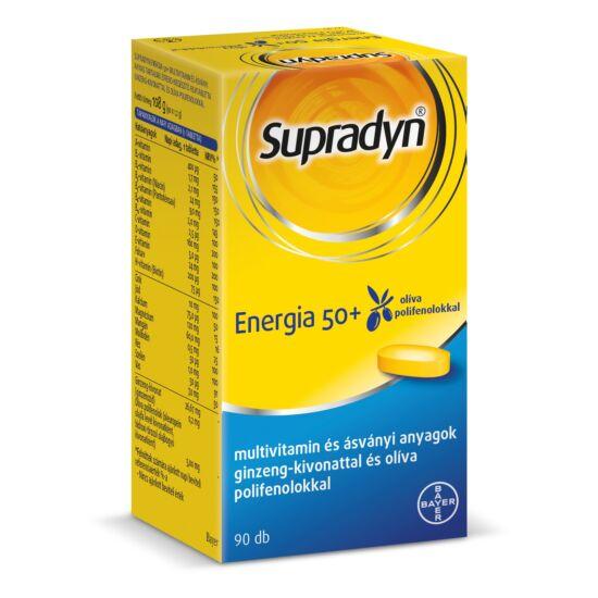 Supradyn Energia 50+ filmtabletta (90x)