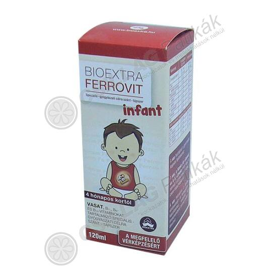Bioextra Ferrovit Infant spec. tápszer (120ml)