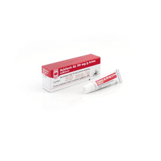 Aciclovir AL 50 mg/g krém (2g)