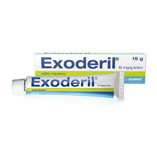 Exoderil 10 mg/g krém (1x15g)