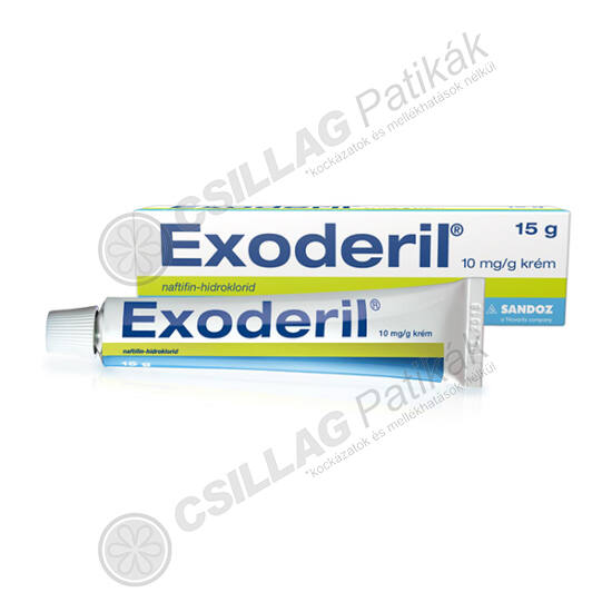 Exoderil 10 mg/g krém (1x15g)