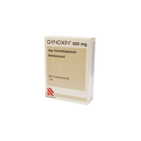 Gynoxin 600 mg lágy hüvelykapszula (1x)