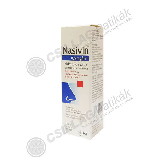 Nasivin 0,5mg/ml oldatos orrspray (1x10ml)