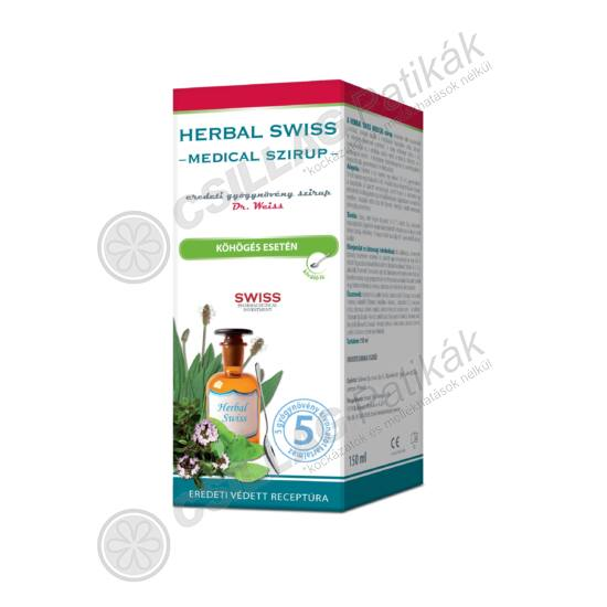 Herbal Swiss Medical szirup (150ml)