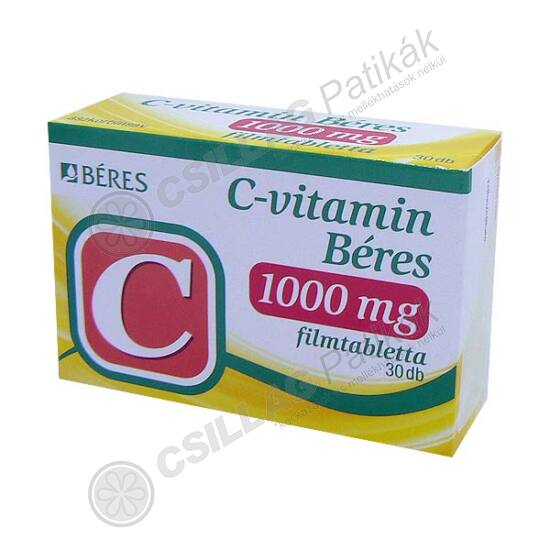 Béres C-vitamin1000 mg filmtabletta (30x)