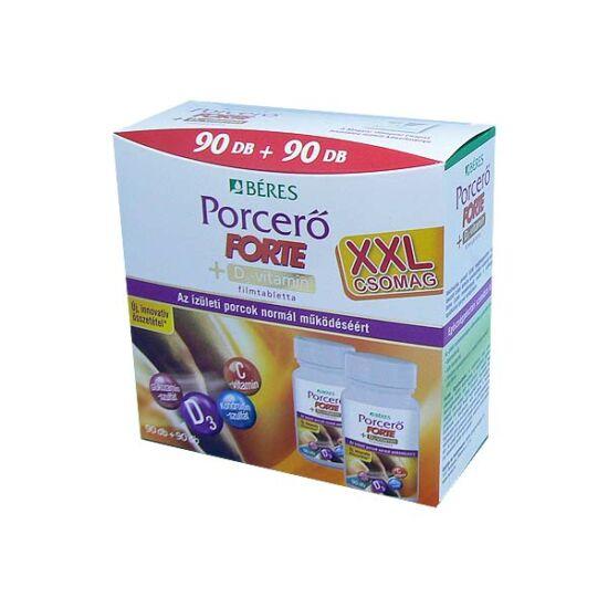 Béres Porcerő Forte +D3-vitamin filmtabletta (90+90x)