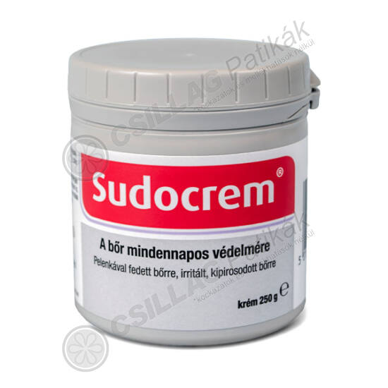 Sudocrem védőkrém pelenkakiütés ellen (250g)