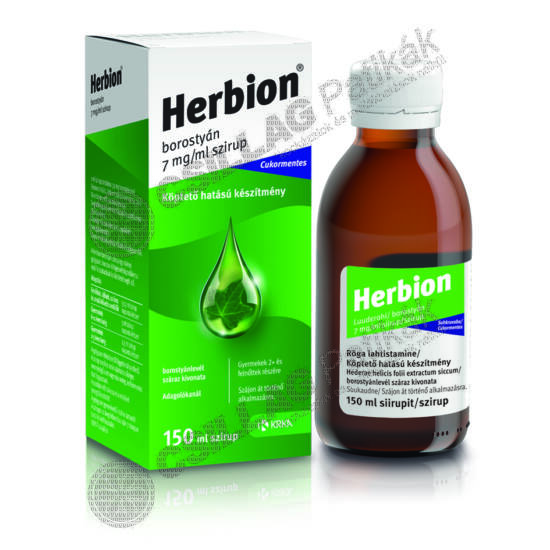 Herbion borostyán 7 mg/ml szirup (150ml)