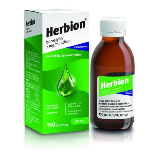 Herbion borostyán 7 mg/ml szirup (150ml)