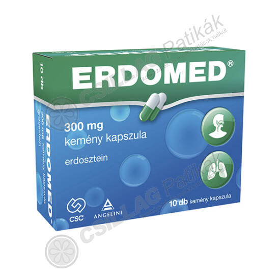 Erdomed  300 mg kemény kapszula (10x)