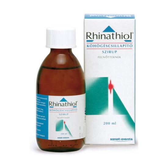 Rhinathiol 1,33 mg/ml köhögéscsill.szirup felnőtt. (1x200ml)