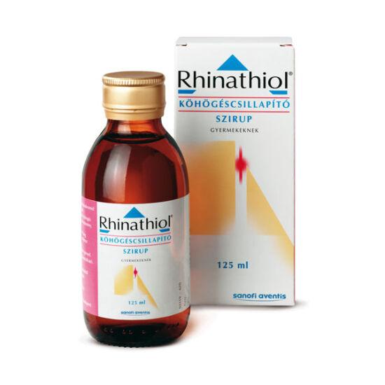 Rhinathiol 1 mg/ml köhögéscsill. szirup gyermekek. (1x125ml)