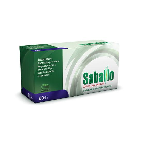 Saballo 320 mg lágy kapszula (60x)