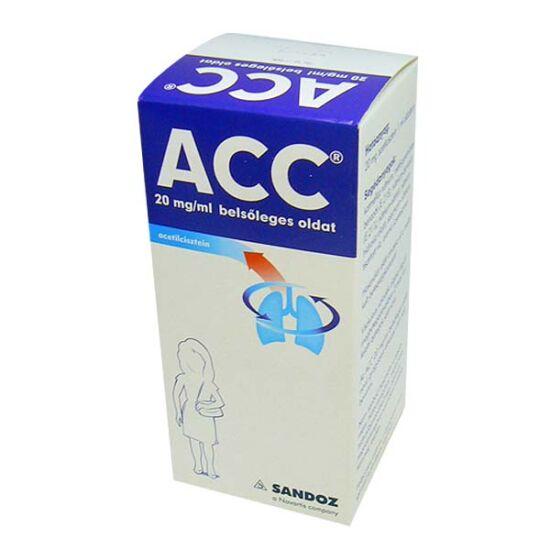 ACC  20 mg/ml belsőleges oldat (200ml)