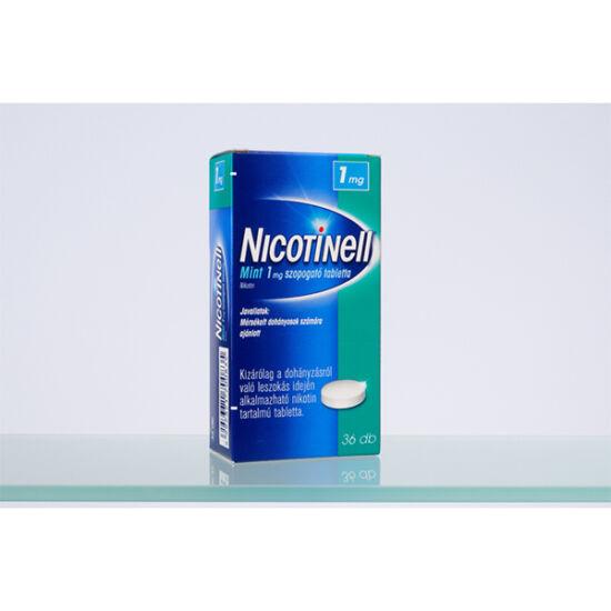 Nicotinell Mint 1 mg szopogató tabletta