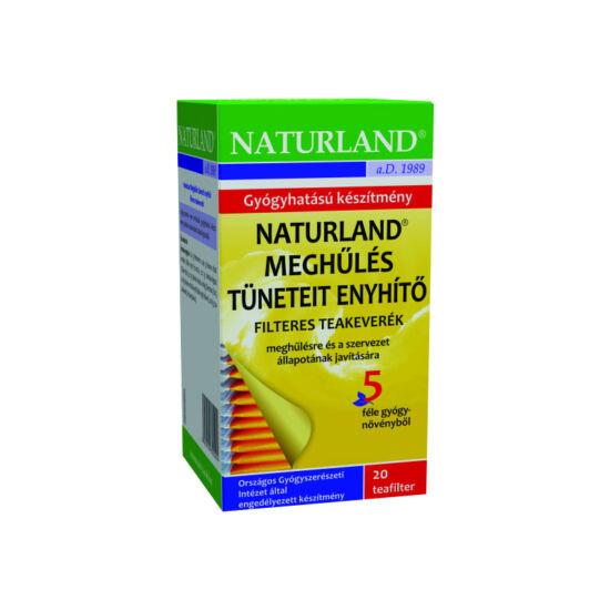 Naturland meghűlés elleni tea filteres (20x)