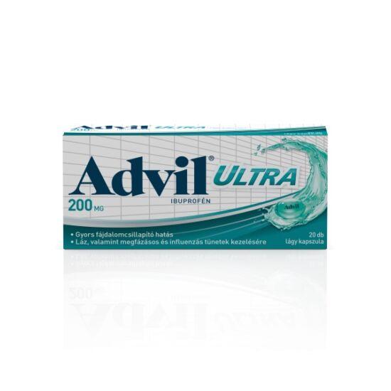 Advil Ultra lágyzselatin kapszula (20x)
