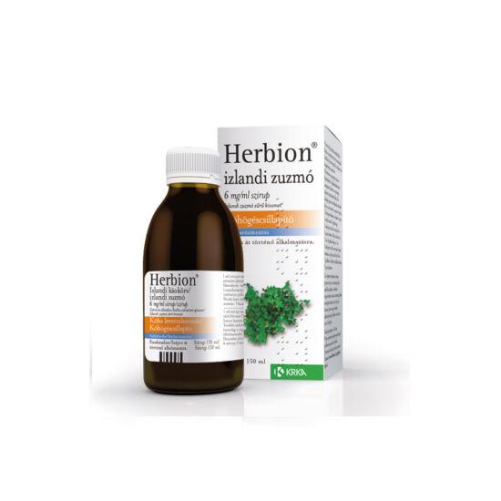 Herbion izlandi zuzmó 6 mg/ml szirup (150ml)
