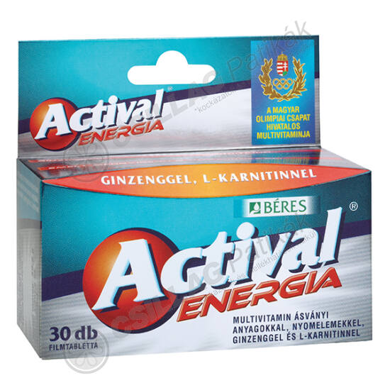 Actival Energia filmtabletta (30x)
