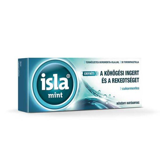 Isla-Mint szopogató tabletta (30x)