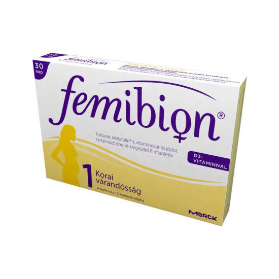 Femibion 1 +D3 filmtabletta (30x)