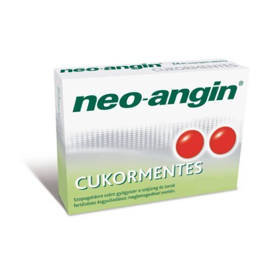 Neo-Angin cukormentes bukkális tabletta (24x)