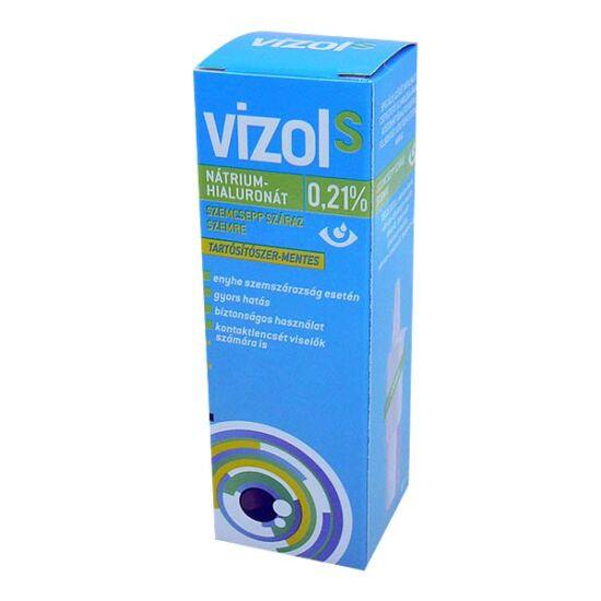 Vizol S 0,21% oldatos szemcsepp száraz szemre (10ml)