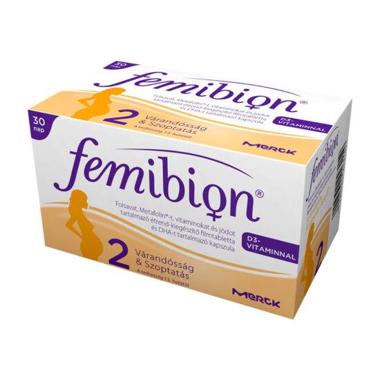 Femibion 2 +D+Met+DHA ftbl. kapszula (30x+30x)