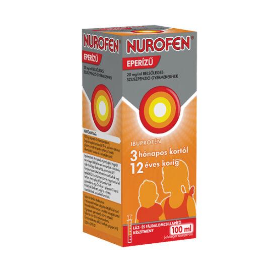 Nurofen  20mg/ml belsől.szuszpenzió gyerm.eperízű (100ml)