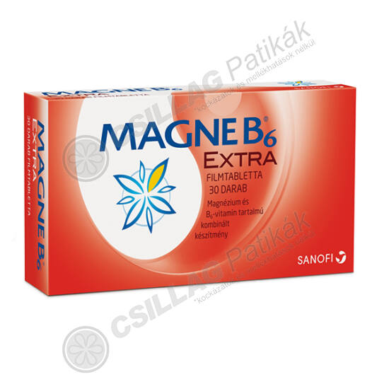 Magne B6 Extra filmtabletta (PVC-Pe-PVDC/Alu) (30x)