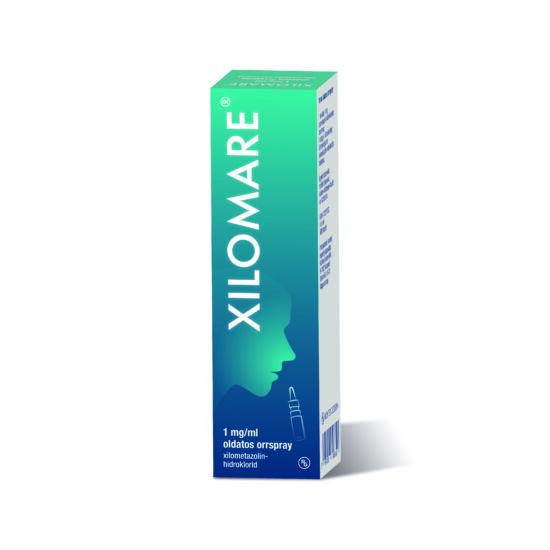 Xilomare 1 mg/ml oldatos orrspray (1x10ml)