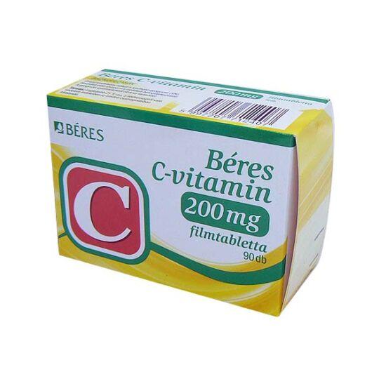 Béres C-vitamin 200 mg filmtabletta (90x)