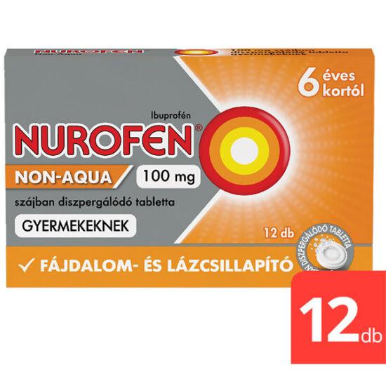 Nurofen Non-Aqua 100mg szájban diszp.tabl.gyermek (12x)