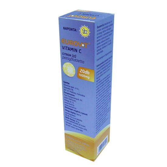 Eurovit C vitamin 1000 mg pezsgőtabletta (20x)