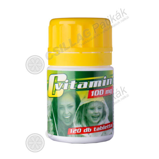 VitaPlus C vitamin 100 tabl. (120x tégely)