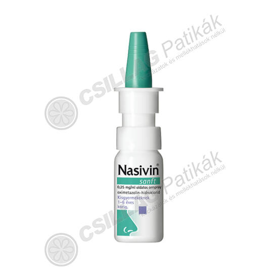 Nasivin Sanft 0,25mg/ml oldatos orrspray (1x10ml)