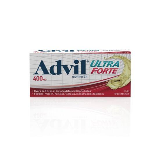 Advil Ultra Forte lágyzselatin kapszula (16x)