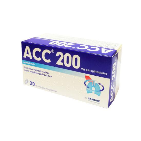 ACC 200 pezsgőtabletta (20x tasakban)