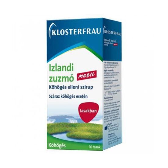 Klosterfrau Izlandi zuzmó szirup tasakban (10x10ml)