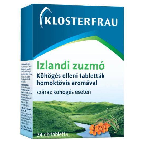 Klosterfrau Izlandi zuzmó tabletta köhögés ellen (24x)