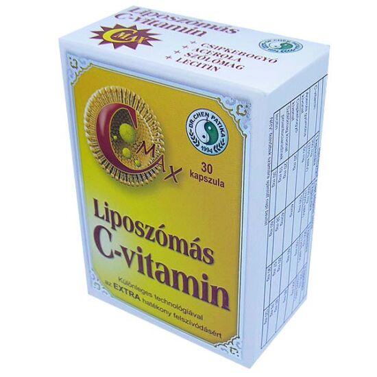C-Max liposzómás C-vitamin kapszula DR.CHEN (30x)