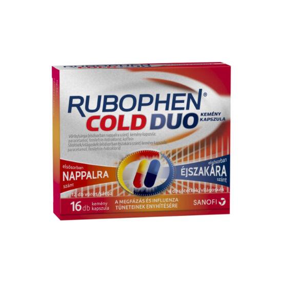 Rubophen Cold Duo kemény kapszula (2x(6+2))