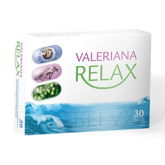 Valeriana Relax Gyógynövény lágy kapszula (30x)