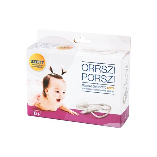 Orrszi Porszi orrtisztító szett műanyag (1x)